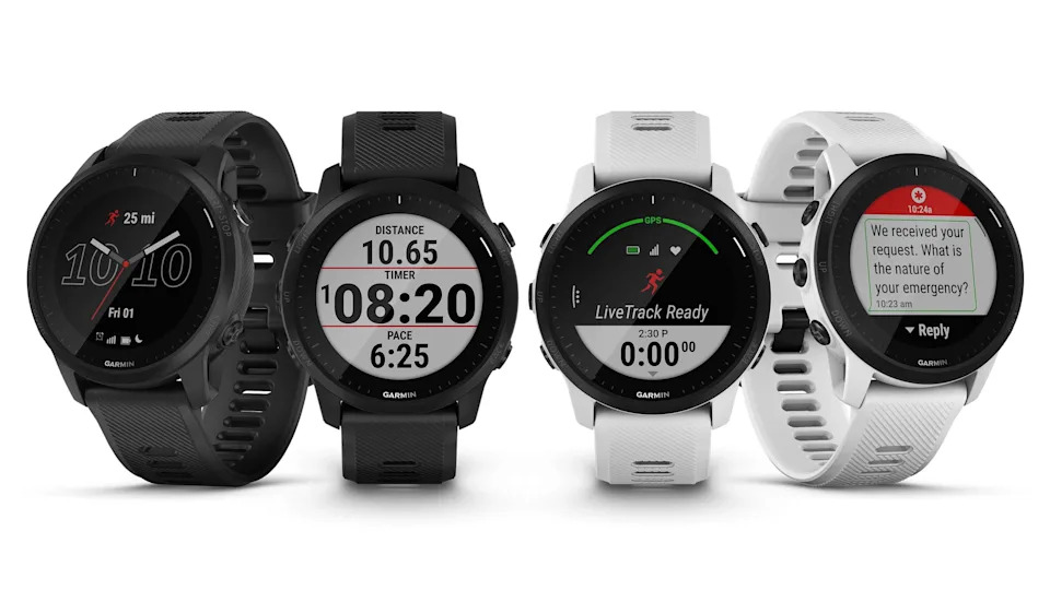 Garmin's latest smartwatch is equipped with LTE, so you can call for help in an emergency