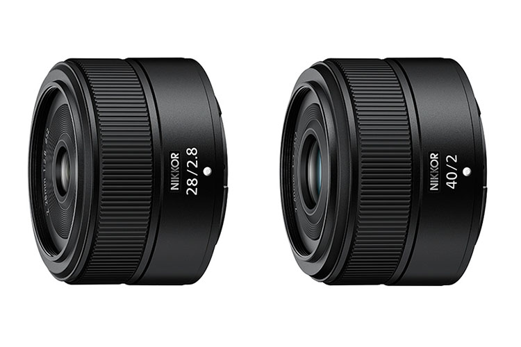 Two Nikon lenses released together with ZFc